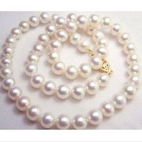 Wholesale 14kt Heart Pendant - 9-10MM CHARMING BEAUTIFUL WHITE SOUTH SEA AAA+ PEARL NECKLACE 14KT 18INCH