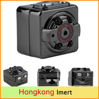 Wholesale Digital Hd Camcorder Video Camera - SQ8 Mini Camera HD 1080P 720P Espia DV Voice Video Recorder Infrared Night Vision Digital Small Camera Hidden Camcorder