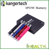 Wholesale Ego Battery Adjustable Lcd - Kanger IPOW Battery 650mAh Capacity with LCD Screen eGo Thread Battery 100% Original Kanger IPOW VV Battery