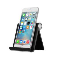 настольный телефон оптовых-Бесплатный DHL Держатель телефона для iPhone 7 Универсальный держатель мобильного телефона стенд стол держатель стенд для Samsung планшет iPad
