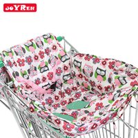 Wholesale Toddler Shop Wholesale - Baby Kids Toddler Child Infant Boy Girl Children Shopping Cart Cover Trolley Cart Cover Shopping Trolley Seat Cover 2112045
