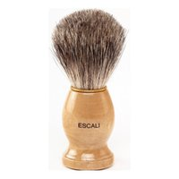 Wholesale Shaving Brushes Wholesale - 2016 Branded Man Face Cleaning Brush Black Handle Superfine Pure Blaireau Shaving Beard Brush Shaving Brush Male Cleaning Tool