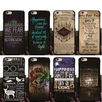 Compra Iphone Harry Potter-Funda Harry Potter para iphone 6 6S 5S SE 7 7plus 6Plus Cubierta de silicona suave TPU de dibujos animados