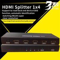 Controller schermo video HDMI Splitter 1x4 Box Full HD 4 porte Hub Repeater 4K2k 3D per DVD PC