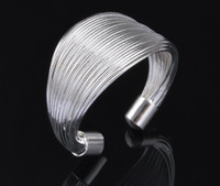 2017 hot sale best price! 925 Sterling Silver Exaggeration 13mm bobina anel de abertura encantos jóias de moda 10pcs / lot