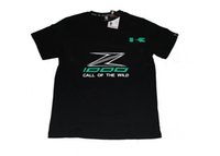 Wholesale Race Crew Shirts - 2016 Freeshipping! Motorcycle Racing kawasaki Z1000 Summer T shirt men sport motorbike T-shirt men