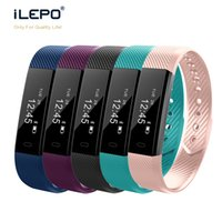 Smart Bracelet ID115 com Fitness Tracker Step Counter Activity Monitor Band Relógio Despertador Wristband relógio inteligente Para telefones IO Android
