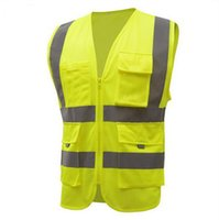 Wholesale cycle safety clothing online - Reflective Vest High Quality High Visibility Working Clothes Motorcycle Cycling Running Sport Outdoor Reflective Safety Clothing