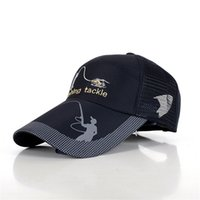Wholesale Male Bucket Hats - Wholesale-Outdoor Bucket Women Hats Fishing Caps For Men Unisex Protection Mesh Breathable Embroidery Sunshade Male Adjustable Design M043