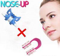 neue nase großhandel-New Nose Up Shaping Shaper Lifting + Brücke zum Begradigen Beauty Clip Clipper Set