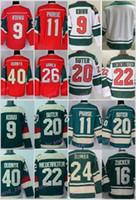 Wholesale Linen Cotton Jersey - Minnesota Wild Stadium Series Ice Hockey Jerseys 9 Mikko Koivu 11 Zach Parise 16 Jason Zucker 22 Nino Niederreiter 40 Devan Dubnyk 64 Mikael