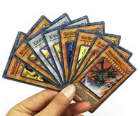 Wholesale Oh Cards - 288 pcs   lot Yugioh Flash Cards Baby Cards Game Toys English Version Boys Girls Yu Gi Oh Games Collection Cards Christmas Gift FreeShipping