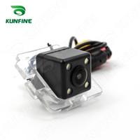 Wholesale Outlander Camera - CCD Track Car Rear View Camera For Mitsubishi Outlander Parking Assistance Camera Track Line Night Vision LED Light Waterproof KF-V1171L