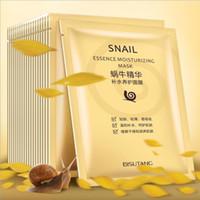 Wholesale pore shrink mask for sale - Group buy Bisutang Snail Mask Moisturizing Face Mask Oil Control Shrink Pores Facial Masks Snail Dope Mask Paste Skin Care