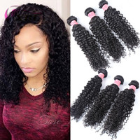 Wholesale Curly One Piece Remy Extensions - xblhair curly hair style virgin human hair extensions remy brazilian human hair bundles 3 bundles one set