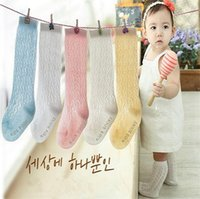 Wholesale Thin Cotton Socks Children - Summer baby socks thin mesh model High-grade tube socks in children socks let go antiskid cotton breathable kids socks 2771