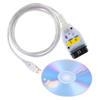 Wholesale Bmw Cable Dcan - Auto car Diagnostic cables for BMW INPA can + k dcan USB OBD2 Interface INPA Ediabas inpa for BMW