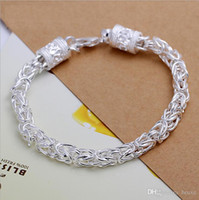 Wholesale European Bracelet Supplies - Priced supply European and American popular fashion boutique jewelry silver jewelry Korean new new leader Bracelet