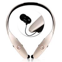 Wholesale lg hbs white - 2018 Wireless Stereo Earphones Bluetooth 4.0 Sport Headphone HBS 900 Earphone Headsets Tone+ Infinim Neckbands For iPhone Samsung LG
