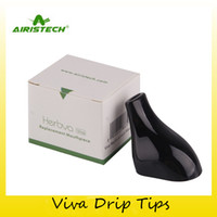 Wholesale dry herb vaporizer tips - Authentic AirisTech Viva Replacement Mouthpiece Drip Tips For Original Airis Herbva Viva Dry Herb Vaporizer Vape Pen Kit 100% Genuine
