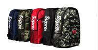 Wholesale Table Tennis Bags Sale - Supreme X L V Backpack Authentic Quality Best AAA+ Christopher 30x45x15cm Men Women School Bag Sport Outdoor Packs Bags hot sale