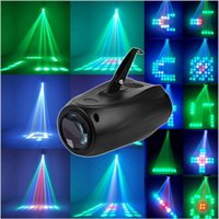 Wholesale Effects For Voices - New Arrival Sound-actived 64 Led RGBW Disco Stage Light Magic Pattern Change DJ Lighting Effect for Party Show LED Laser light