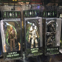 Wholesale Aliens Figure Neca - NECA Aliens 3 Dog Alien Weyland-Yutani Weyland Yutani Commando Ellen Ripley PVC Action Figure Collectible Model Toys Doll 7""