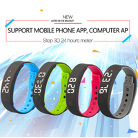 Wholesale Outdoor Camera App - Sleep Sports Fitness Activity Tracker Smart Bracelet A7 Band Pedometer Bracelet Watch Support Mobile Phone APP