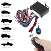 Wholesale Keyless Remote Control Toyota - 12V Car Alarm System Vehicle Keyless Entry System with Remote Control & Door Lock Automatically for Toyota CAL_108