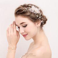 Wholesale Girls Hair Accesories - New Handmade Crystal Rhinestone Elegant Brides Girls Hairpins Wedding Barrettes Bridal Hair Jewelry Accesories Costume Ornaments