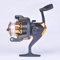 Wholesale Carp Feeder Rod - Fishing rod hand wheel Fishing Reel Carp Fishing Reels Molinete Pesca Feeder Spinning Reel Freshwater Saltwater Fish Gear