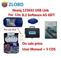 Wholesale nexiq software - Top Selling free DHL 2017 NEXIQ 125032 USB Link Diesel NEXIQ USB LINK Truck Diagnose Interface and Software with All Installers