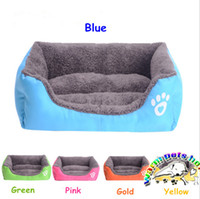 Wholesale Medium Stuffed Animals - W003 Pet products square dog bed for small dogs luxury large dog bed giant stuffed animal bed dog house