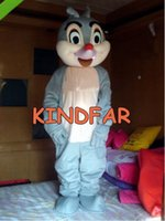 Wholesale Squirrel Mascot Adult Costume - Wholesale-New Squirrel Chipmunk MASCOT COSTUME ADULT CARTOON Halloween Fancy Dress Cartoon Suit Free Shipping