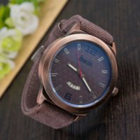 BK Top Quality Luxury Brand Bwin Vintage Denim Band Wristwatch 5 couleurs calendrier complet Quartz Montres Hommes 2016 W71