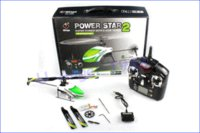 Wholesale Flybarless Helicopter Rtf - Free shipping! WLtoys 4CH Flybarless Helicopter Power Star 2 V988 2.4GHz 4 Channel Remote Control RC Flybarless Helicopter RTF