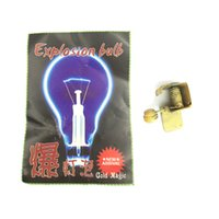 Wholesale Magic Tricks Light Bulb - Wholesale- 1pcs Exploding Light Bulb close up Magic Trick created by Yigal Mesika as seen on Criss Angel's TV show illusion Mentalism