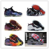 Wholesale Tech Sale - 2017 Hot Sale Penny Hardaway Men's Basketball Shoes PRO TECH FLEECE FIGHTER JET ASTEROID GALAXY neakers With Box