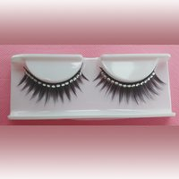 Wholesale Eyelashes Rhinestones - 1cm to 1.5cm false eyelashes, synthetic hair, Rhinestone false eyelashes, FE703R