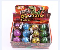 Wholesale Toy Animals Dinosaurs - Water Hatching Dinosaur Egg Expansion Toy Eggs Puzzle Toys For Children 5*7CM Fancy Novel Educational Toys for Children Gifts