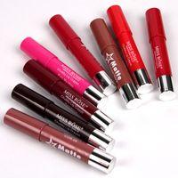 lagerboxen zum verkauf großhandel-heißer Verkauf FRÄULEIN ROSE 8 färbt MATTENEN Lippenstift Batom Stock drehen Schlauchlippenstift mit PC / Los DHL der Anzeigenbox.120
