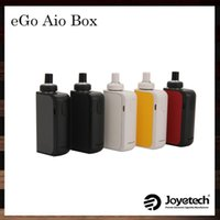 Single black lock box - Joyetech eGo AIO Box Kit All in one System ml Capacity mah Battery Innovative Anti leaking Structure Child Lock Original