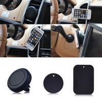 lufttelefon eins großhandel-Kfz-Halterung, Belüftungsöffnung Magnetisch Universal-Kfz-Halterung für das iPhone 6 / 6s, Montage in einem Schritt, verstärkter Magnet, sichereres Fahren
