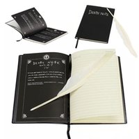 Vente en gros - Sosw-Fashion Anime Theme Death Note Cosplay Notebook New School Large Writing Journal 20.5cm * 14.5cm