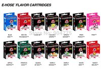 Multi Metal Kanger 500pcs lot Starbuzz Cartridges Refillable with 14 flavors for starbuzz e hose e hookah electronic cigarette Free Shipping