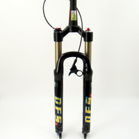 suspension berg mtb fahrrad großhandel-DFS luftgabel DFS-RLC-TP-RCE 26er 27.5er suspension mountainbike fahrrad MTB gabel REMOTE lock out dämpfung einstellen 100mm reise 1-1 / 8