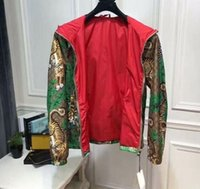 Wholesale Jungle Clothes - 2018 Fashion Casual Outdoor Tiger Jungle Jacket Autumn Sunproof Waterproof Men Women Luxury Zipper Anti UV Sports Skin Coat mens clothing