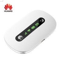 Wholesale Mobile Router Modem Broadband - Hot Sale Unlocked Huawei E5220 3G GSM 21Mbps HSPA+ Wireless Mobile Hotspot Router WIFI Broadband Modem