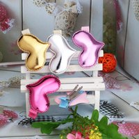 Wholesale Hair Clips Barettes - Wholesale- New Girls Sweet Lovely Shiny Star Heart Hairpins Baby Hair Accessories Headwear Kids Colorful Barettes Baby Hair Clip