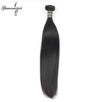 Wholesale Extension Sample Color - Unprocessed Brazilian Straight Hair Extension 1pcs Lot Grade Brazilian Virgin Hair Remy Human Hair Weave Sample Order